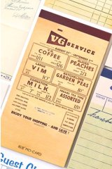 Message Notes Paper Note Memo - vintage functional - service ticket