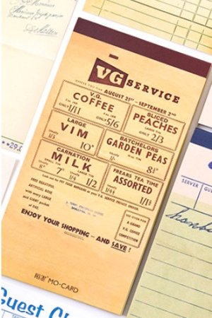 Photo1: Message Notes Paper Note Memo - vintage functional - service ticket