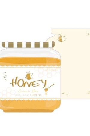 Photo1: Message Notes Paper Note Memo - morning - honey