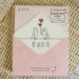 Kawaii Japanese Volume Letter Set - Be with me