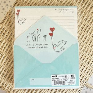 Photo2: Kawaii Japanese Volume Letter Set - Be with me