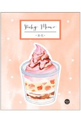 Kawaii Sticky Notes Memo - Sweet - Sundae