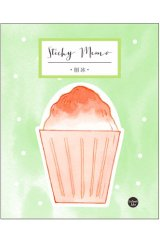 Kawaii Sticky Notes Memo - Sweet - Ice Shake