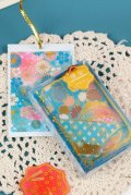 Washi Paper Gilding Seal Sticker Sack - Japanese Traditional Style - Flower Year
