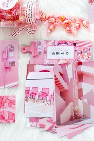 Photo1: Photo Gift Planner Card Set - Candy dream