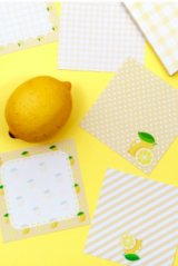 Kawaii Message Notes Memo - fruit - I am a lemon