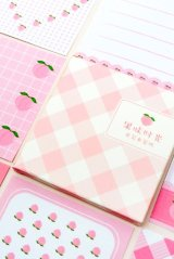 Kawaii Message Notes Memo - fruit - I am peach
