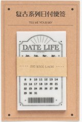 Kawaii Glassing Paper Message Notes Memo - date - modern time