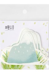 Kawaii Paper Message Notes Memo - sweet summer - snow mountain