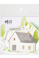 Kawaii Paper Message Notes Memo - sweet summer - house