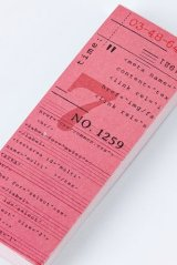 Vintage Office Supplies Scheduler Message Notes Memo - city ticket - radio station