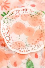 Kawaii Japanese Glassing Craft Wrapping Paper Set  - white golden - shanhu
