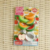 Kawaii Japanese Puzzle Eraser - Fruits - made in Japan