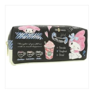 Photo1: Japanese Pencil Pen Case - My melody Yummy Coffee
