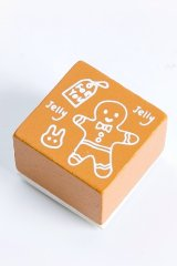 Wooden Rubber Stamp - Christmas - ginger