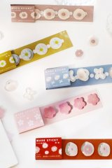 Kawaii Paper Planner Sticky Notes Memo - flowers