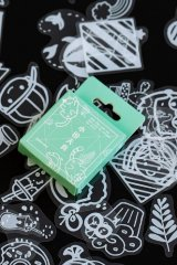 Lovely Planner Paper Label Sticker Box - Lace - Little everyday