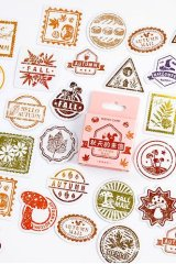 Lovely Planner Paper Label Sticker Box - A letter from Autumn