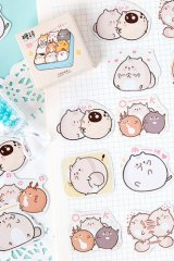 Lovely Planner Paper Label Sticker Box - Little Fat