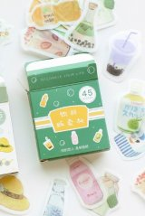 Lovely Planner Paper Label Sticker Box - drink teller