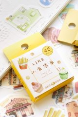Lovely Planner Paper Label Sticker Box - food list