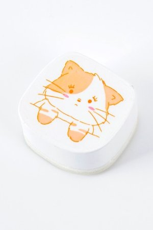 Photo1: Kawaii Planner Bujo Journal Stationery Rubber Stamp - cute animal - zone out