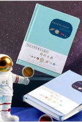 new Kawaii Planner Bujo Drawing Note Book -  Galactic Night