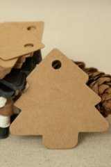 Kraft paper custom tags gift tags product tags Handmade tags DIY tags - Tree