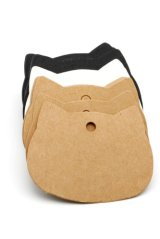 Kraft paper custom tags gift tags product tags Handmade tags DIY tags - Cat