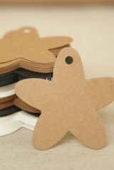 Kraft paper custom tags gift tags product tags Handmade tags DIY tags - Five Stars