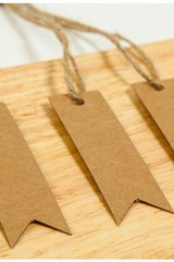 Kraft paper custom tags gift tags product tags Handmade tags DIY tags - Tail