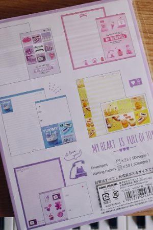 Photo2: Kawaii Japanese Trend Volume Style Letter Set - KAMIO - My Memories