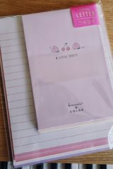 Kawaii Japanese Trend Volume Style Letter Set - KAMIO - Pink Little Fruits
