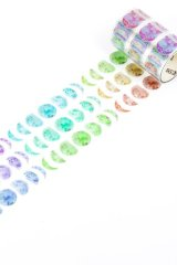 Kawaii Washi Masking Tape - Silent - Moon