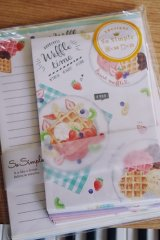 Kawaii Japanese Trend Volume Style Letter Set - Crux - waffle time
