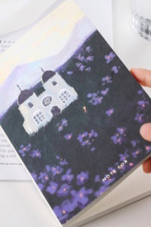 Photo1: new Kawaii Planner Bujo Drawing Note Book -  Violet