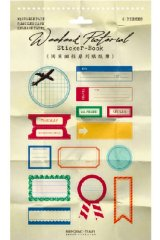 Office School Planner Supplies Sticker Book - Weekend Post - Lucky Day