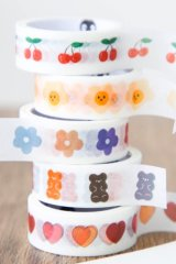 Kawaii Lovely Washi Masking Tape - Salty Flower Love