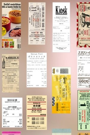 Photo1: DIY Supplies Planner Diary Tracing Paper Materials - Ticket Collector - Life