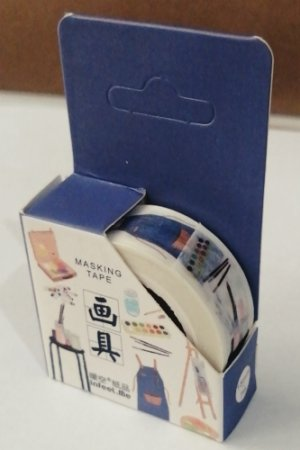 Photo1: Morden Planner Masking Tape - drawing tools