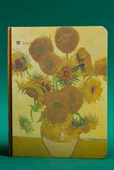 Kawaii Planner Journal Scheduler Note Book - Van Gogh Sun Flower