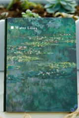 Kawaii Planner Journal Scheduler Note Book - Monet water lilies