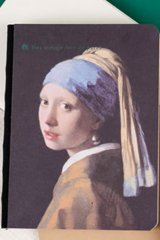 Kawaii Planner Journal Scheduler Note Book - Girl with a Pearl Earring