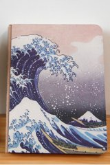 Kawaii Planner Journal Scheduler Note Book - Japanese The Great Wave