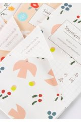 Kawaii Slim Envelope Set - Southern Spring (5 pieces)