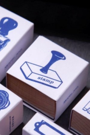 Photo1: DIY Planner Wooden Rubber Stamp - stationery - life mark