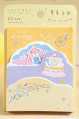 Stationery Office Supplies Die cut Notes Memo - Girly Heart - wonderland