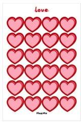 Kawaii Journal Planner Stickers Set - cartoon - heart