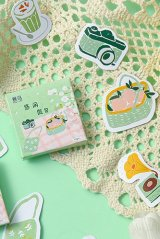 Lovely Planner Paper Label Sticker Box - holiday