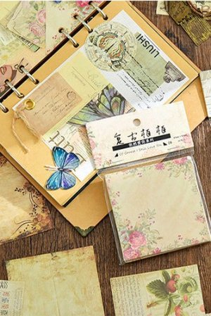 Photo1: DIY Supplies Paper Materials - love you - vintage frame
